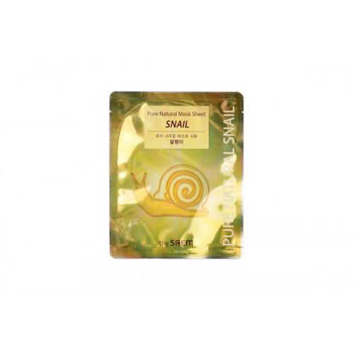 Маска тканевая с муцином улитки Pure Natural Mask Sheet [Snail]
