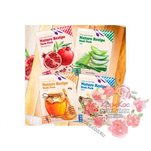 Маска тканевая Nature Recipe Mask Pack