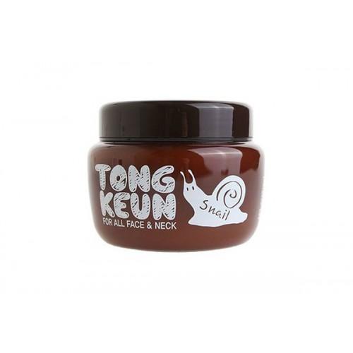 Крем с экстрактом слизи улитки Urban Dollkiss Tongkeun Snail Cream