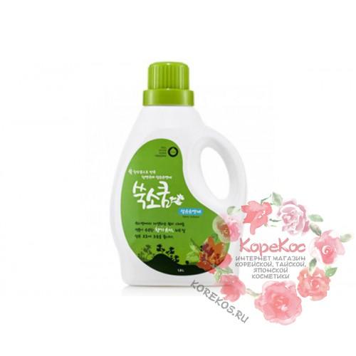 Кондиционер жидкий в бутылке Fabric Softener 1,8л Ssook Soo Qoom