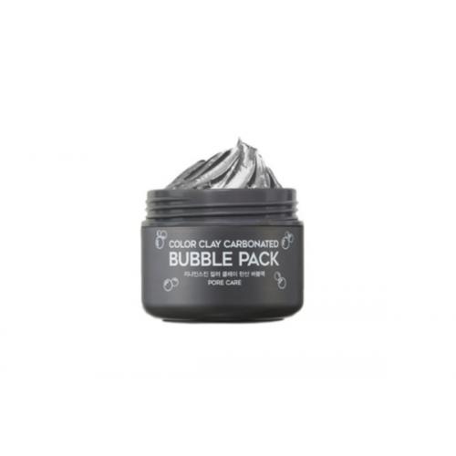 Маска для лица глиняная пузырьковая G9SKIN Color Clay Carbonated Bubble Pack
