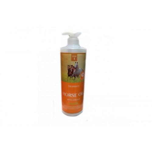 Шампунь с гиалуроновой кислотой и лошадиным жиром DEOPROCE HORSE OIL HYALURONE SHAMPOO