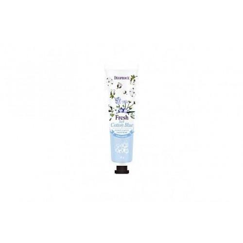 Крем для рук парфюмированный DEOPROCE SOFT COTTON BLUE PERFUMED HAND CREAM