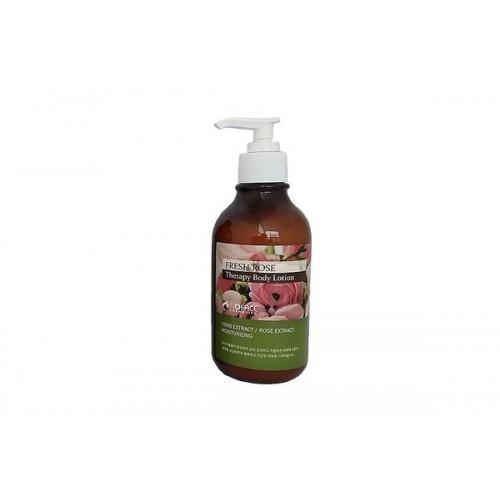 Увлажняющий лосьон для тела с экстрактом розы INOFACE Fresh rose Body lotion