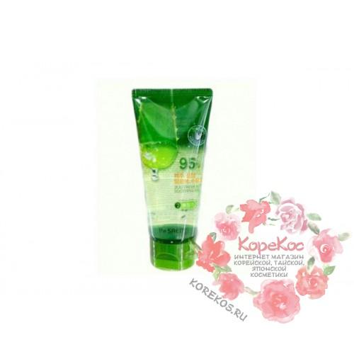 Гель с алоэ универсальный увлажняющий Jeju Fresh Aloe Soothing Gel 95%_Tube