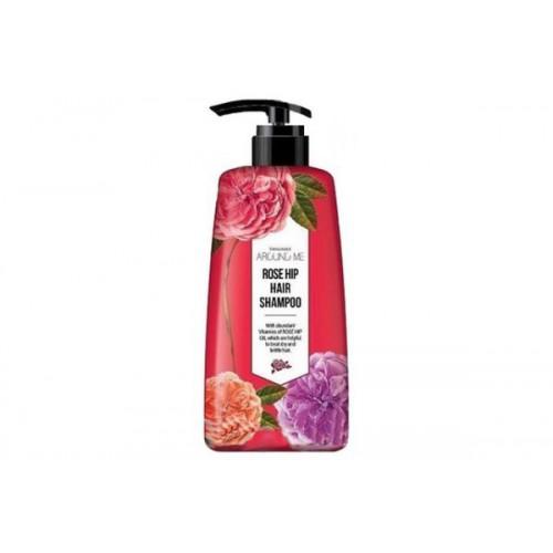 Шампунь для волос Around me Rose Hip Hair Shampoo