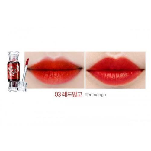 Тинт для губ Конфетка Saemmul Water Candy Tint 03 Redmango