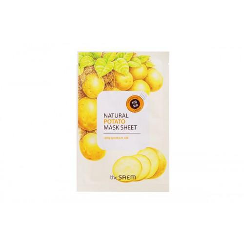 Маска тканевая с экстрактом картофеля Natural Potato Mask Sheet