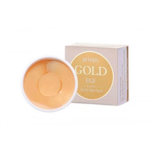 Патчи для глаз с золотом PETITFEE Gold & EGF Eye Spot Patch
