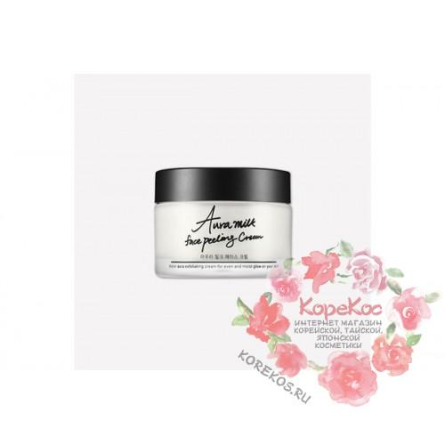 Крем-пилинг для лица TIAM Aura Milk Face Peeling Cream