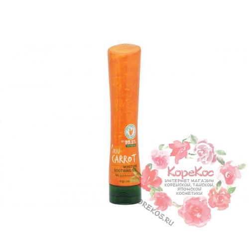 Гель для тела увлажняющий морковный Kwailnara Jeju Carrot Moisture Soothing Gel