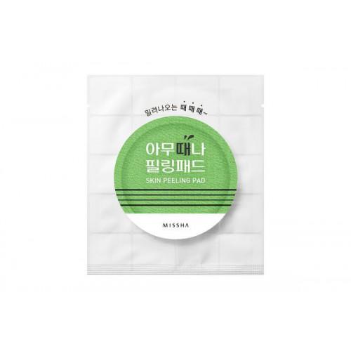 Пилинг салфетки с AHA и BHA кислотами MISSHA Skin Peeling Pad