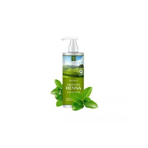 Бальзам для волос с зеленым чаем и хной DEOPROCE RINSE - GREENTEA HENNA PURE REFRESH