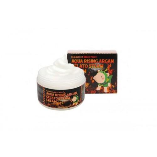 Крем паровой увлажняющий Aqua Rising Argan Gelato Steam Cream