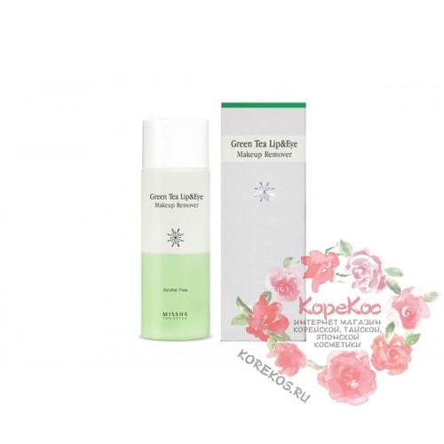Средство для снятия макияжа MISSHA The Style Green Tea Lip & Eye Makeup Remover (R)