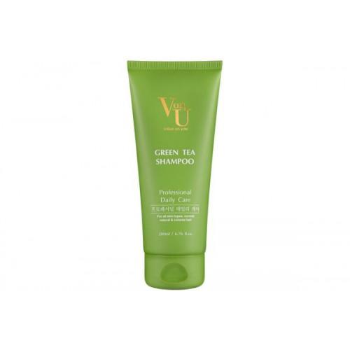 Шампунь с зеленым чаем для жирной кожи головы Green Tea Shampoo
