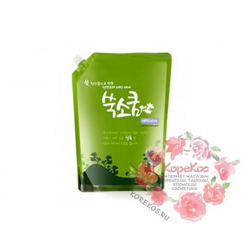 Стиральный порошок жидкий в мягкой упаковке 1,6 л Liquid Laundery Detergent Ssook Soo Qoom