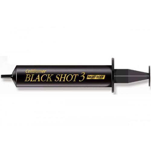 Крем ночной концентрированный для сжигания жира для тела Black Shot (Night Body)