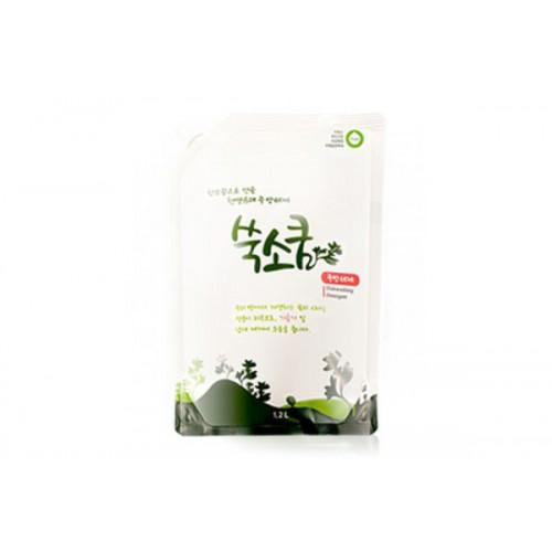 Средство для мытья посуды в мягкой упаковке 1,2 л Dish wash detergent Ssook Soo Qoom
