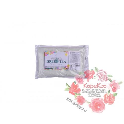 Маска альгинатная с экстрактом зеленого чая успокаивающая Green Tea Modeling/Refill