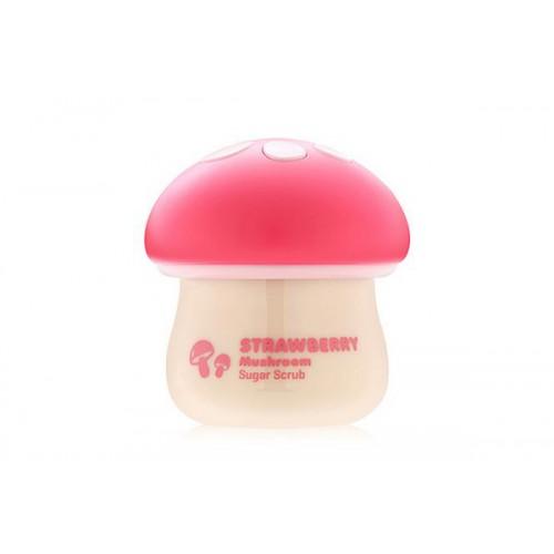 Скраб сахарный для лица с экстрактом клубники Magic Food Straberry Mushroom Sugar Scrub