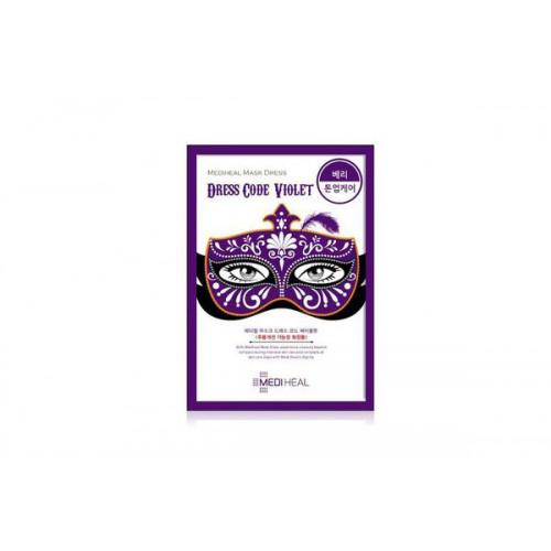 Маска тканевая для лица Mask Dress Code Violet