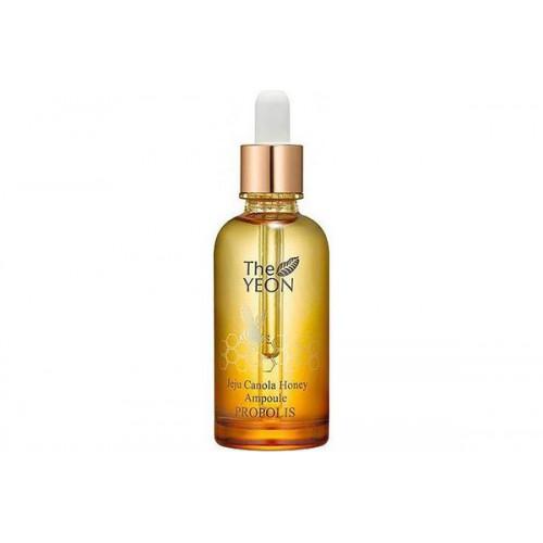 Сыворотка ампульная с прополисом и медом TheYEON Jeju Canola Honey Ampoule Propolis