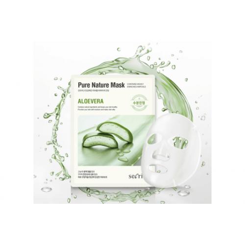 Маска для лица тканевая Secriss Pure Nature Mask Pack- Aloevera