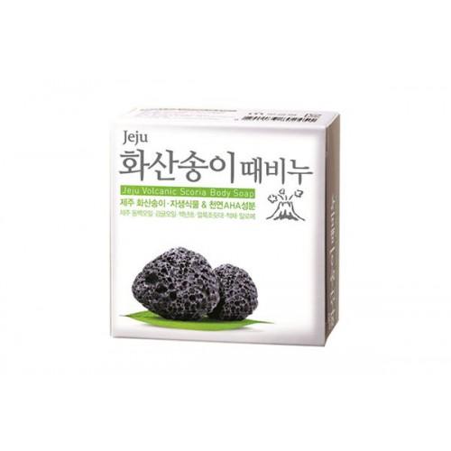 Мыло с вулканическим пеплом Jeju Volcanic Scoria Body Soap