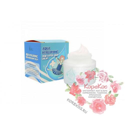 Крем для лица увлажняющий ГИАЛУРОНОВАЯ КИСЛОТА Aqua Hyaluronic Acid Water Drop