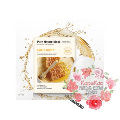 Маска для лица тканевая Secriss Pure Nature Mask Pack-Sweet honey