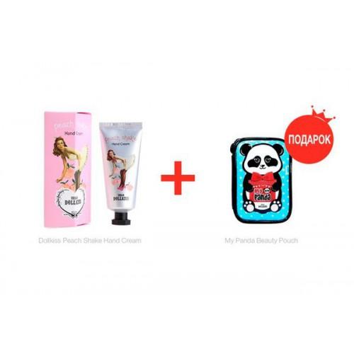 Крем для рук Shake персиковый Dollkiss Peach Shake Hand Cream
