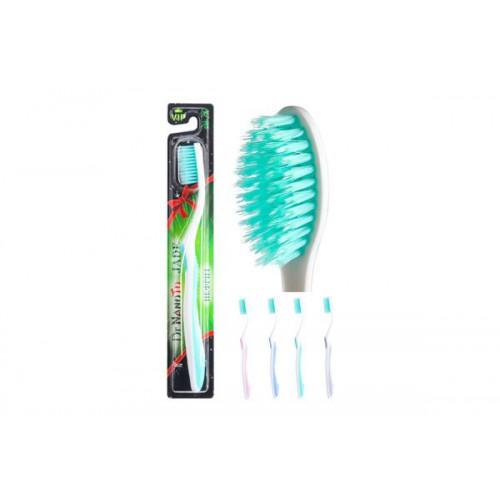 Двухрядная зубная щетка с нефритом Dr.NanoTo Jade