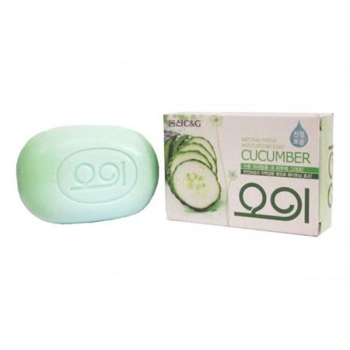 Мыло туалетное огуречное New Cucumber soap