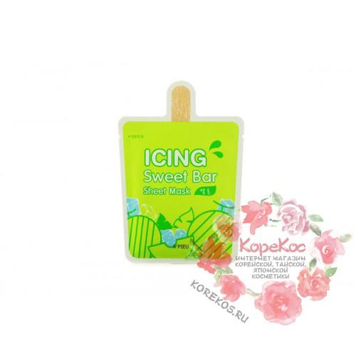 Маска-мороженное листовая A'PIEU Icing Sweet Bar Sheet Mask (Melon)