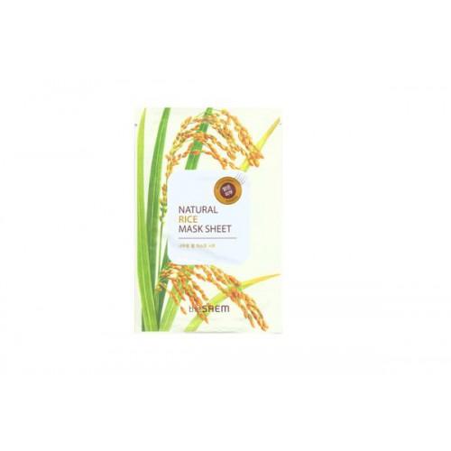 Маска тканевая с экстрактом риса Natural Rice Mask Sheet