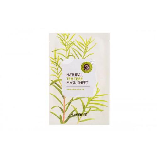 Маска тканевая с экстрактом чайного дерева Natural Tea Tree Mask Sheet