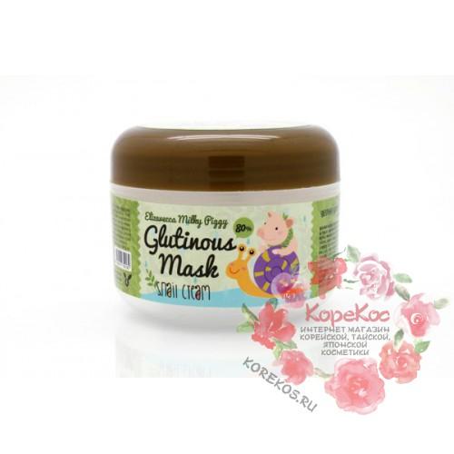Крем с муцином улитки Glutinous Mask 80% Snail Cream