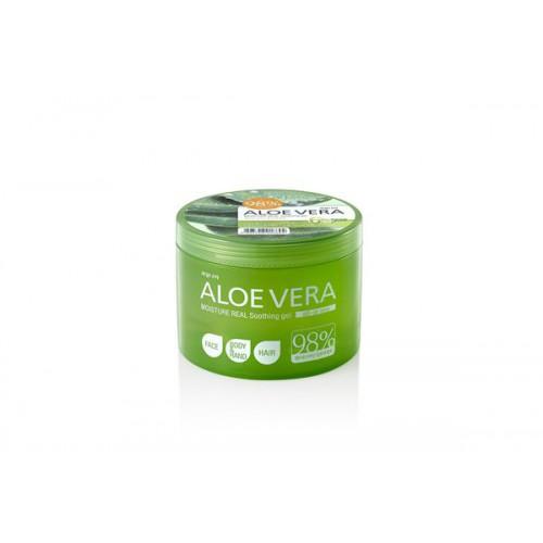 Гель для тела успокаивающий Aloe vera Moisture Real Soothing Gel 500
