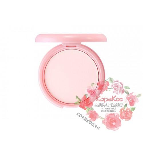 Пудра компактная розовая Saemmul Perfect Pore Pink Pact