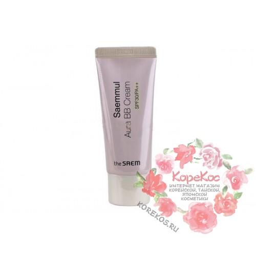 Крем ББ матирующий Saemmul Aura BB Cream 02 Natural Beige
