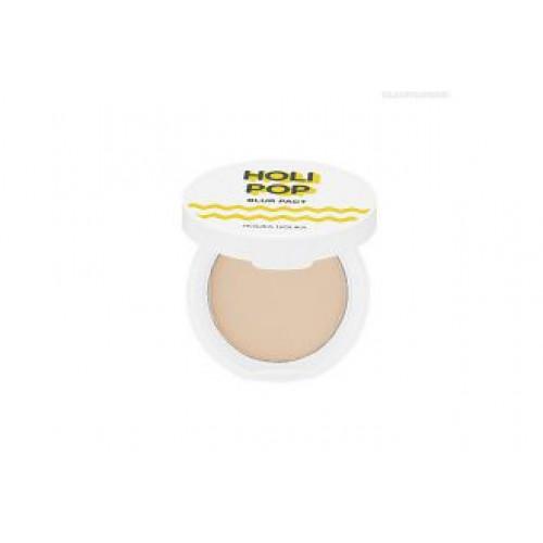 Пудра прессованная «Холипоп Блюр» тон 02 бежевый Holika Holika Holipop Blur pact 02 natural beige