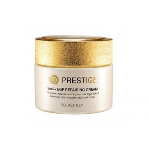 Крем Престиж с муцином улитки Prestige Snail + EGF Repairing Cream