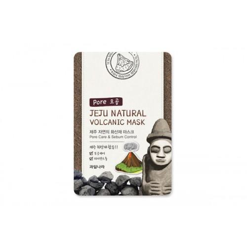 Маска для лица очищающая поры Jeju Natural Volcanic Mask Pore Care & Sebum Control