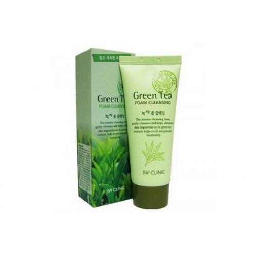 Пенка для умывания зеленый чай Foam Cleansing Green Tea