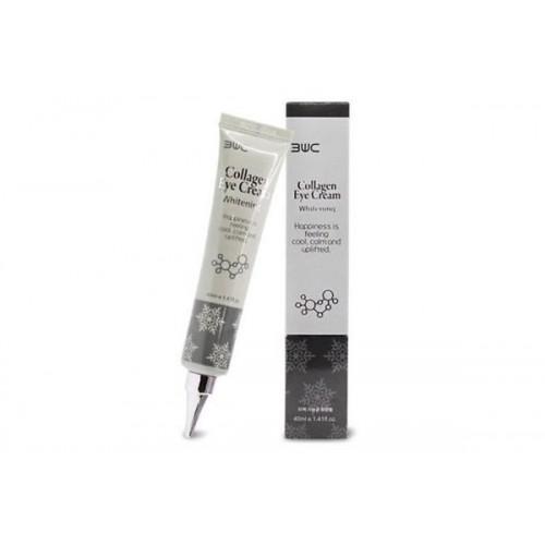 Крем для глаз с коллагеном регенерирующий осветляющий Collagen Eye Cream Whitening