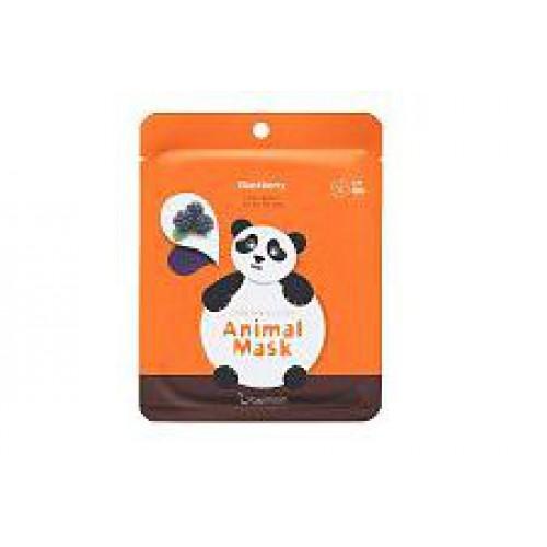 Маска для лица тканевая с экстрактом ежевики Berrisom Animal Mask Series Panda