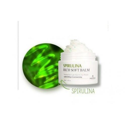 Смягчающий крем-бальзам с экстрактом спирулины SPIRULINA RICH SOFT BALM
