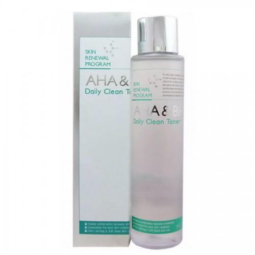 Тонер для лица AHA & BHA Daily Clean Toner