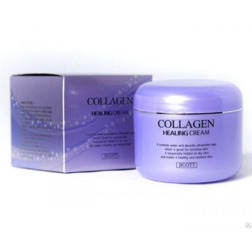 Питательный ночной крем с коллагеном Collagen Healing Cream